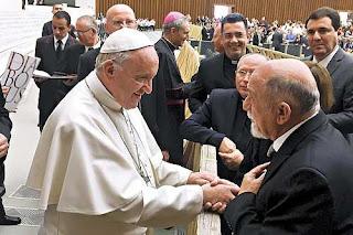 Resultado de imagem para Jatene e o papa Francisco
