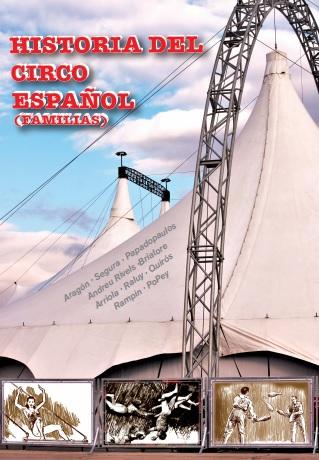Colaboración: PORTADA del libro HISTORIA DEL CIRCO ESPAÑOL - Familias