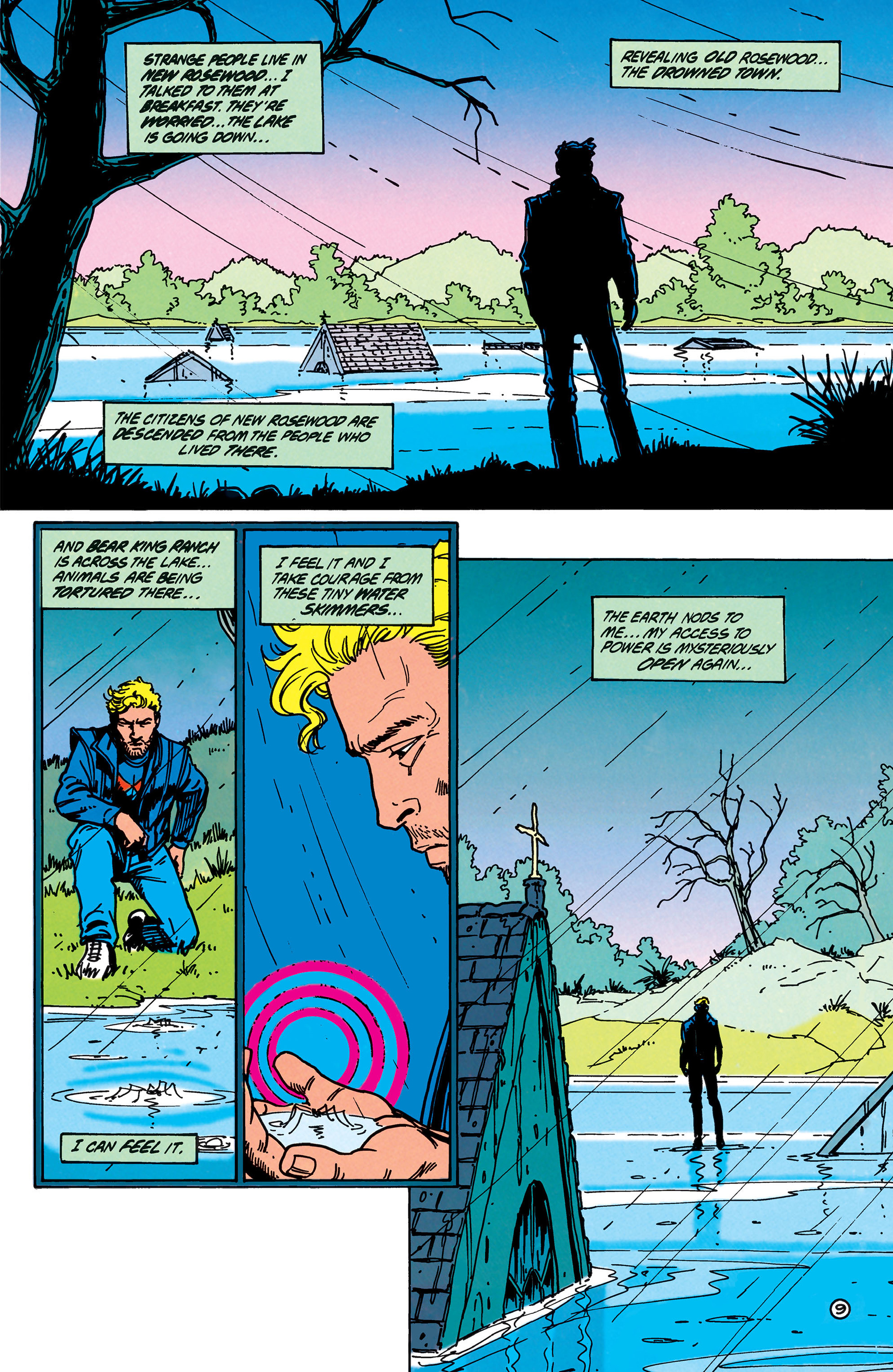 Read online Animal Man (1988) comic -  Issue #40 - 10