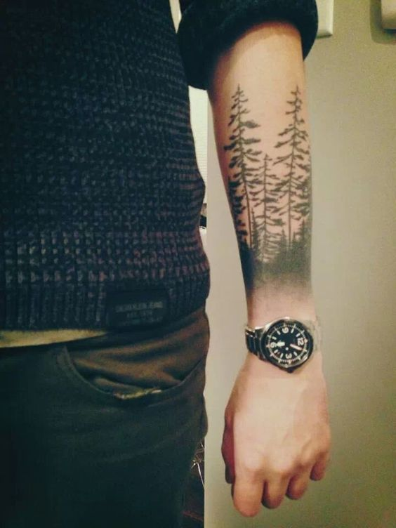 16 Super Cool Forearm Tattoos For Men - POP TATTOO