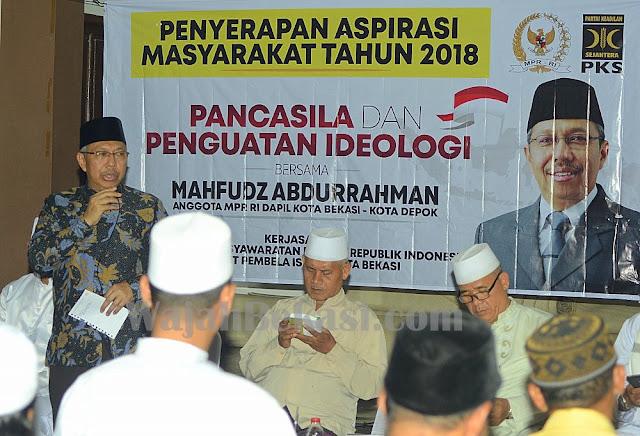 Mahfudz Abdurrahman: Pancasila Adalah Kenyataan Sosial Dan Kebenaran Kultural Bangsa Indonesia