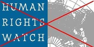 HUMAN RIGHTS WATCH LẠI XÀM NGÔN