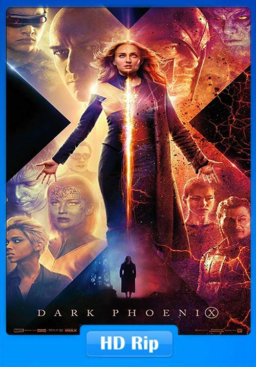 X-Men Dark Phoenix 2019 720p HD HDTS Hindi Tamil Telugu Eng x264 | 480p 300MB | 100MB HEVC