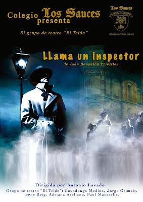 """24 de mayo. 18:00 h. """"Llama un inspector"""" en el Centro Cultural Pablo Iglesias de Alcobendas"""