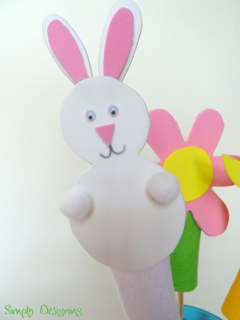Spring Finger Puppets 02a Spring Finger Puppets 14