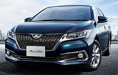 2017 Toyota Allion specs
