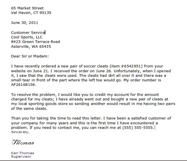 Complaint Letter Bahasa Inggris Sample Resumes Sample
