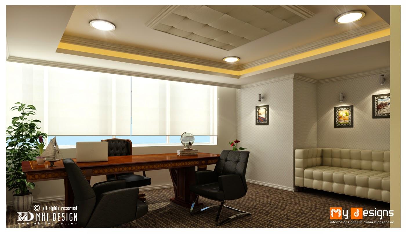 Office interior designs in dubai interior designer in - Office cabin interior design images ...
