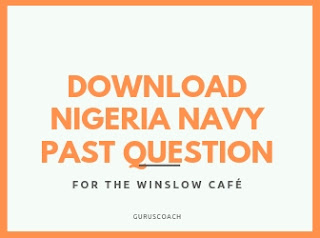 Nigeria navy past questions