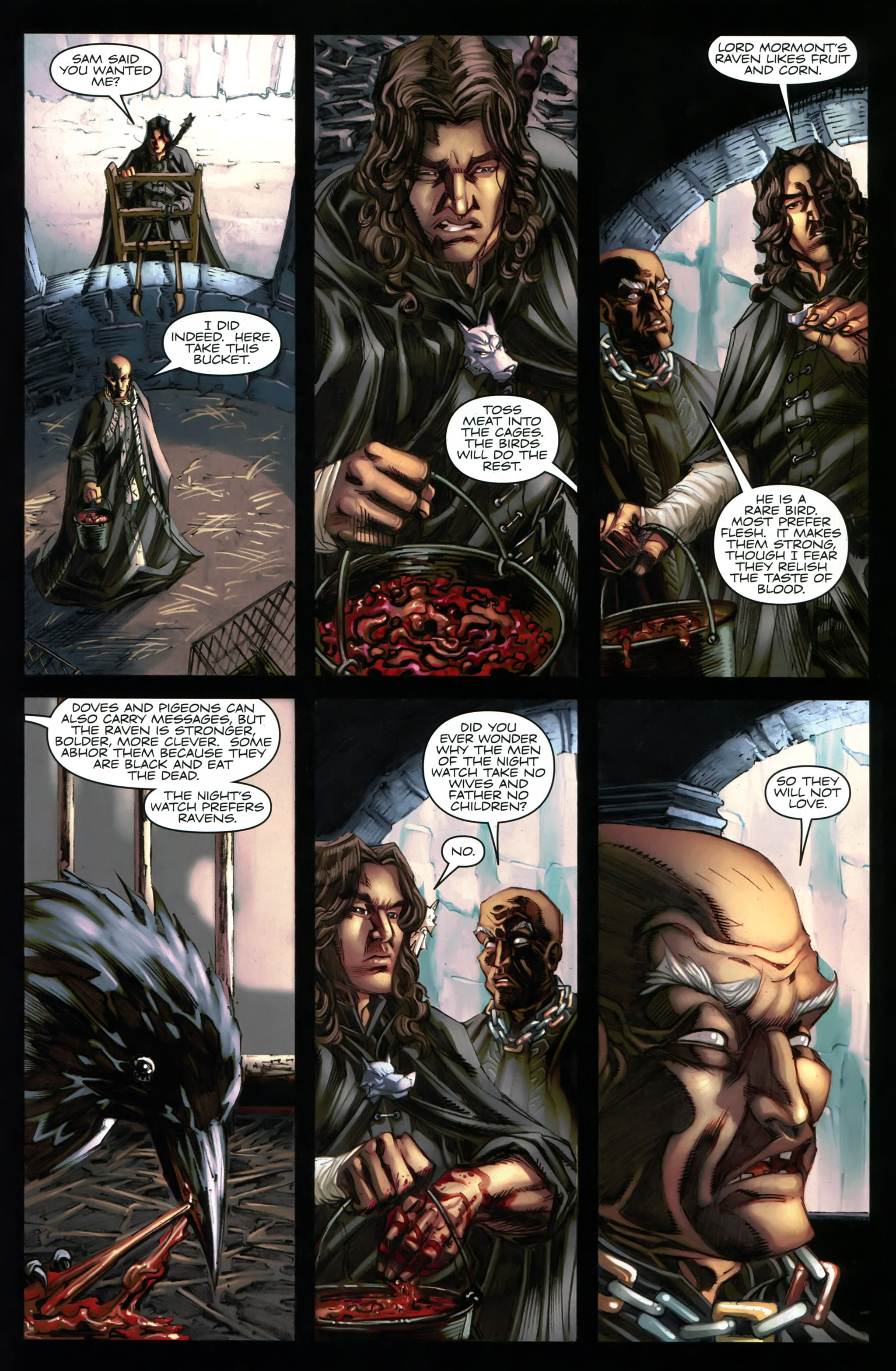 Read online A Game Of Thrones comic -  Issue #20 - 29