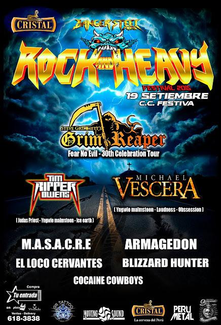 Rock And Heavy Peru Festival