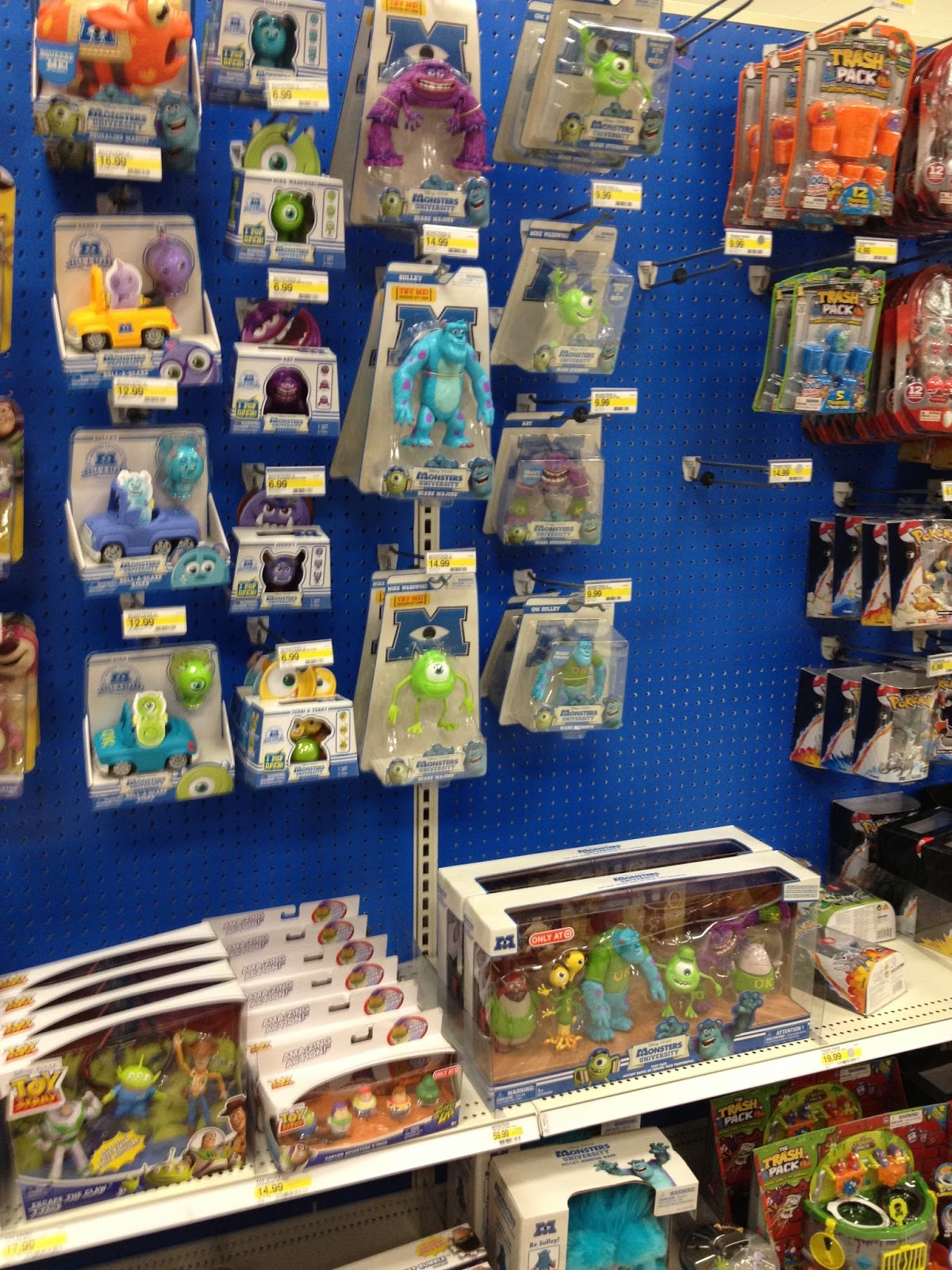 monsters university toys 2013 in stores