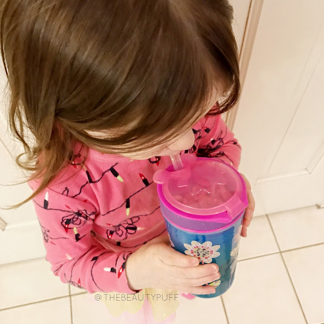 Nuby Snack n Sip Cup  |  The Beauty Puff