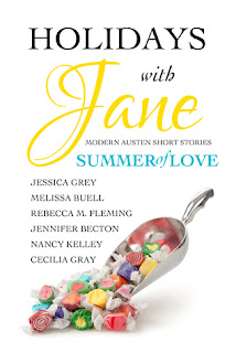Book cover: Holidays with Jane, Summer of Love