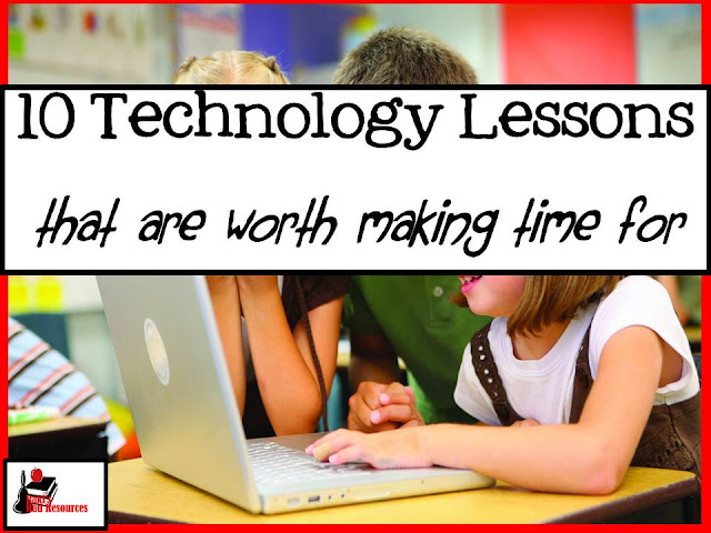 Ten technology lessons that all classroom teachers should take the time to teach. These lessons will enhance learning in all areas of curriculum. Lesson suggestions from Heidi Raki of Raki's Rad Resources.