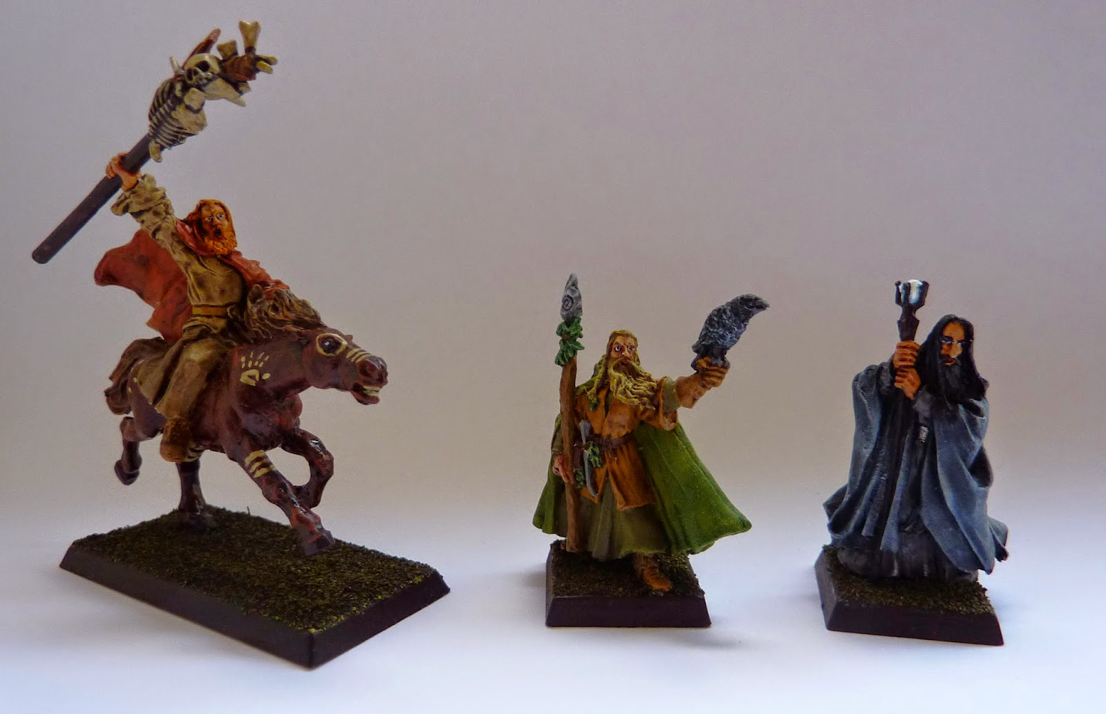 The Istari: Gandalf, Saruman and Radagast