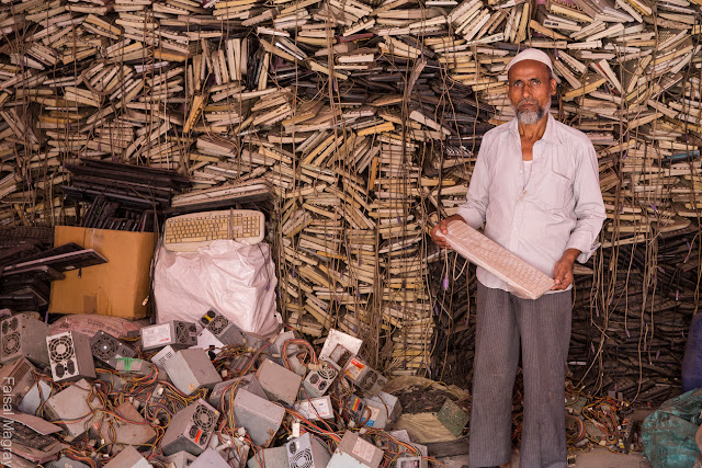 India's Largest  E-waste Graveyard