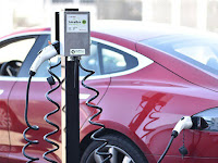 WattTime feeds EV chargers real-time intel on a power grid's ever-shifting carbon footprint. (Photo Credit: Electric Motor Werks) Click to Enlarge.