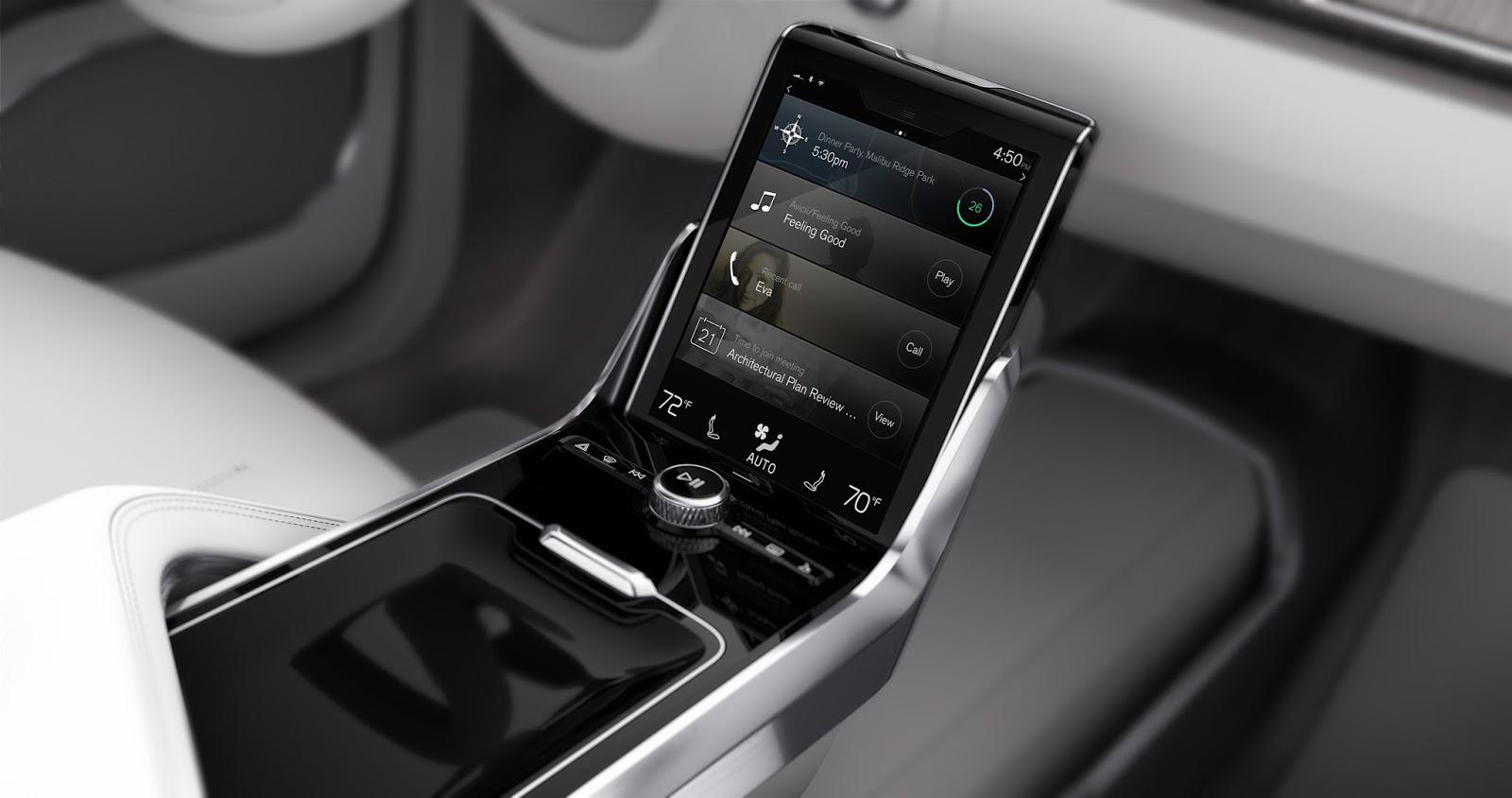 169537 Concept 26 Η Volvo θα κάνει και την αυτόνομη οδήγηση διασκεδαστική Autonomous Driving, Volvo, Volvo XC90, Αυτόνομη οδήγηση