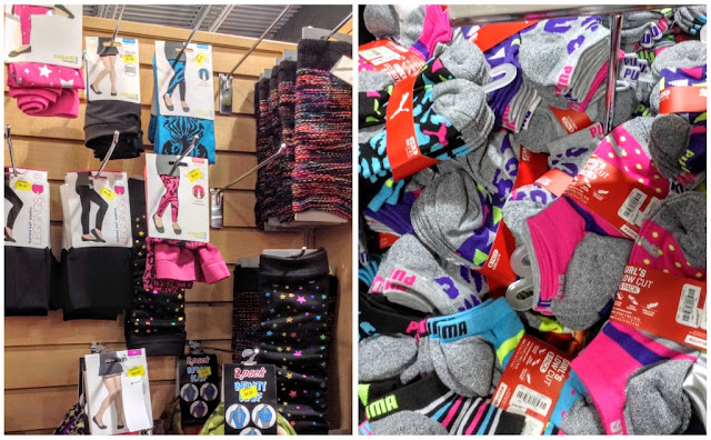 tights, leg warmers, and socks at Gordmans