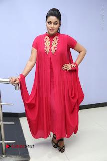 Actress Poorna Latest Stills in Red Dress at Rakshasi First Look Launch  0316.JPG