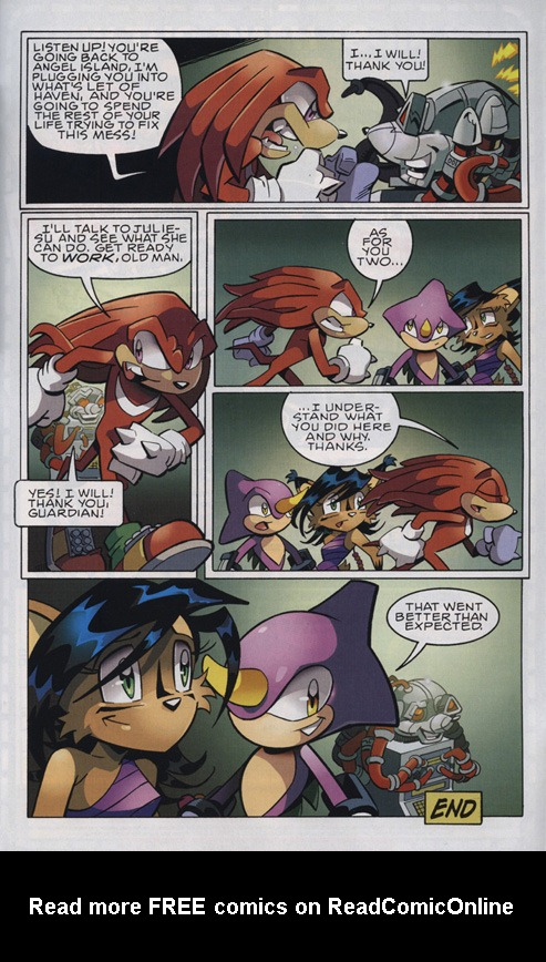Read online Sonic The Hedgehog comic -  Issue #222 - 24