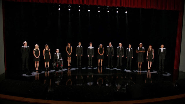 glee finn tribute funeral