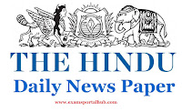 The Hindu's today Newspaper-  October 20, 2017 -  Important articles