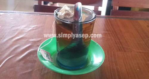 Drinking a glass of tea at least one in a week can improve your quality of healthy. Photo Asep Haryono