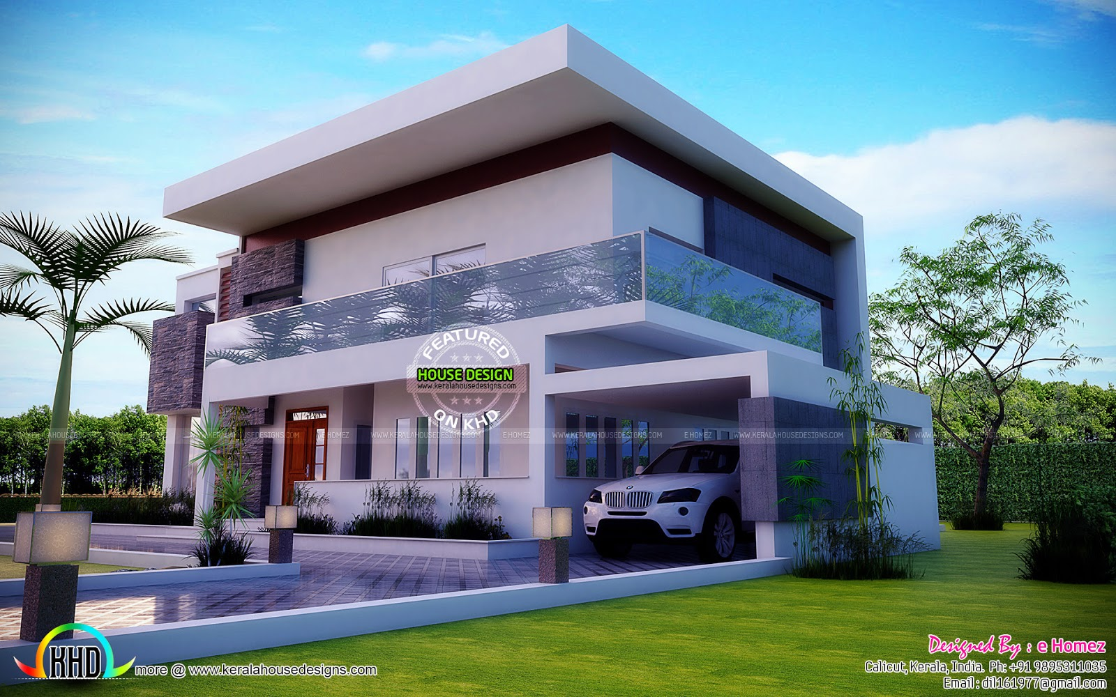 Contemporary Home In Kenya By E Homez Kerala Home Design And Floor Plans