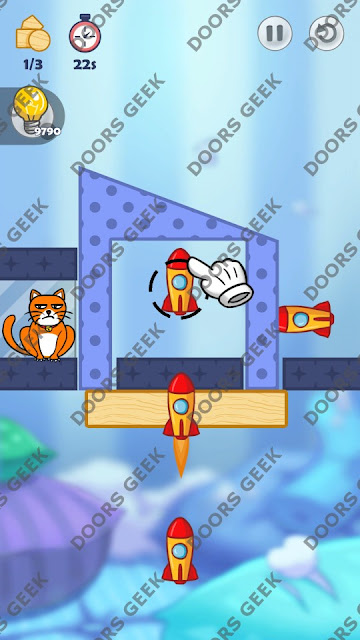 Hello Cats Level 142 Solution, Cheats, Walkthrough 3 Stars for Android and iOS