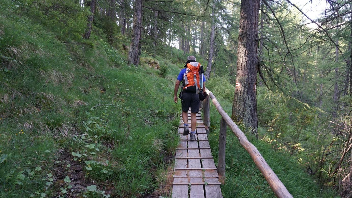 GR5 trail above Arvieux