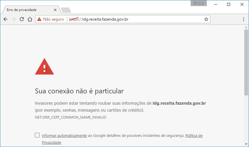 erro de HTTPS - SSL