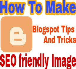 Seo image creat for blogger