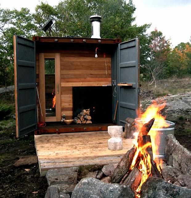 Container Sauna Box Men S Gear