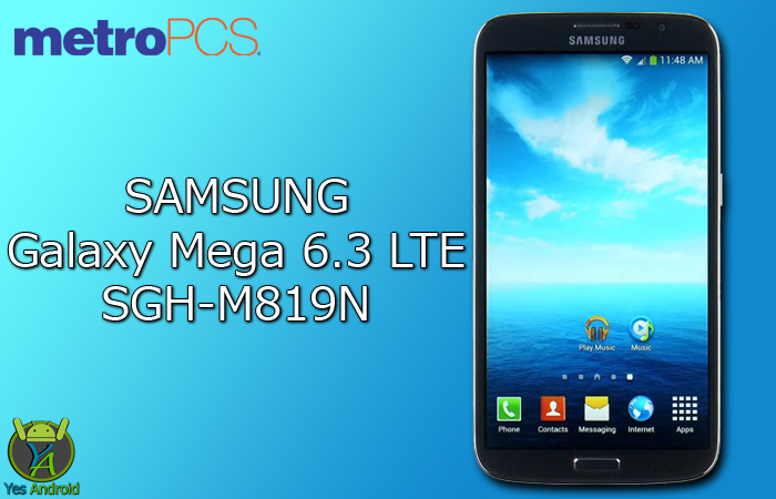Download M819NUVSBQA3 | Galaxy Mega 6.3 SGH-M819N