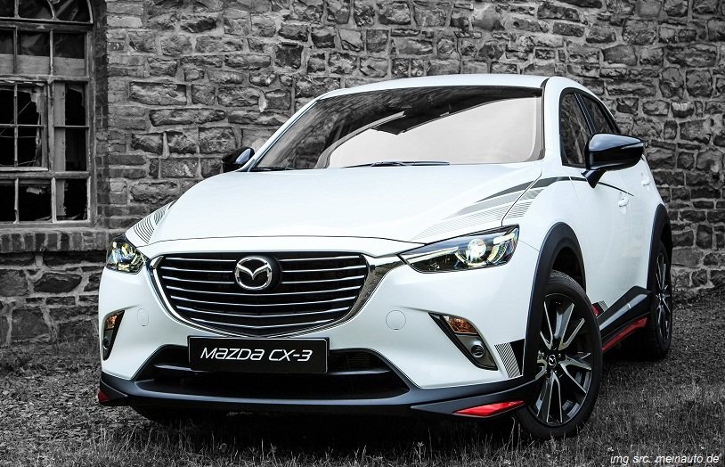 mazda cx 3 individual and sporty accessories. Black Bedroom Furniture Sets. Home Design Ideas