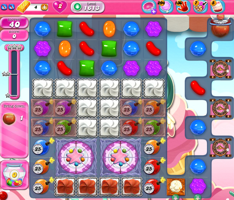 Candy Crush Saga 1613