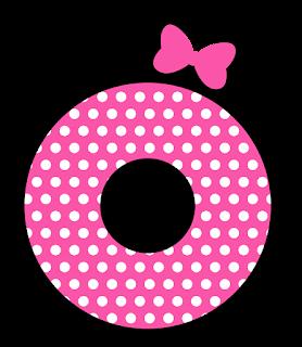 Precioso Alfabeto Tipo Minnie Rosa.