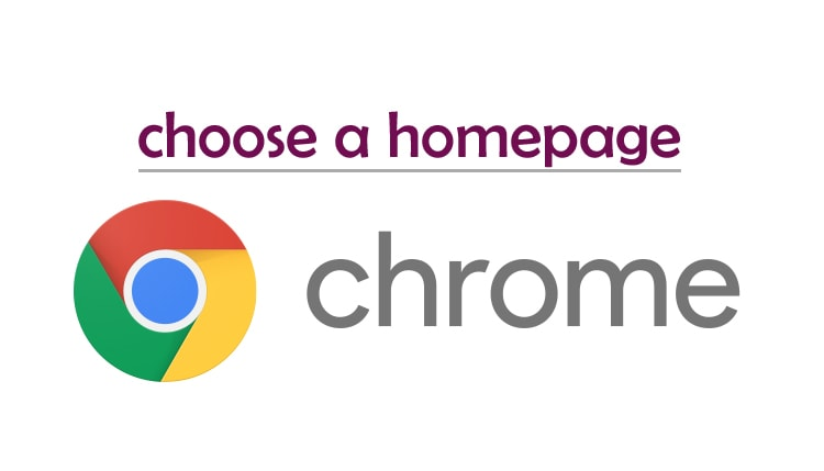Google chrome browser me Homepage kaise modification kare