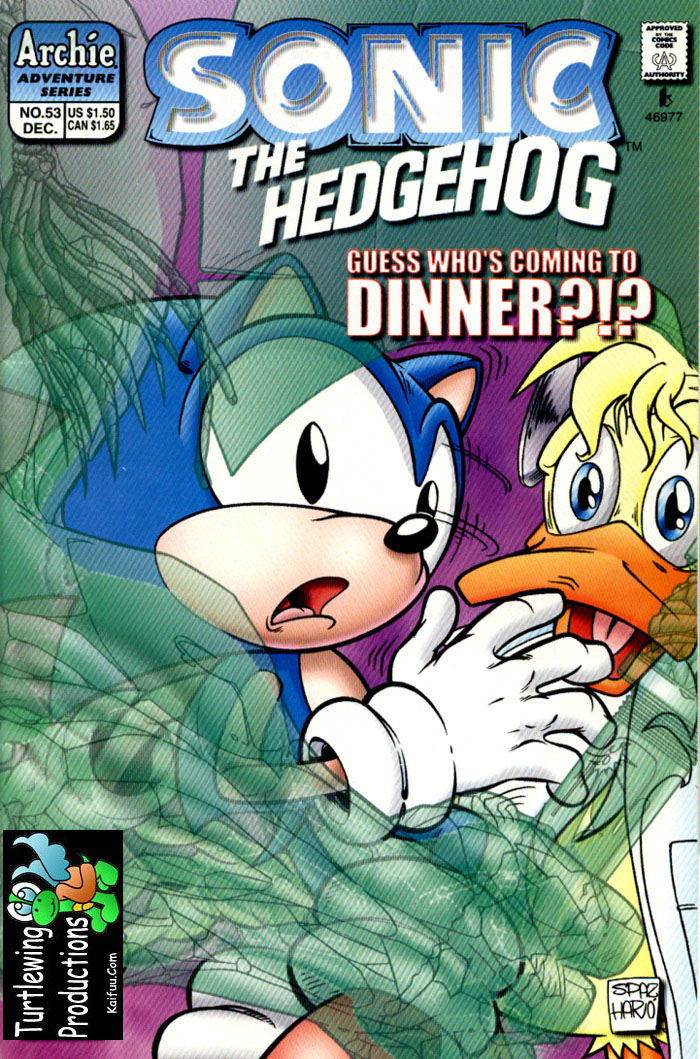 Sonic The Hedgehog (1993) 53 Page 1