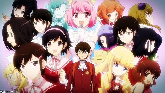 aoa the world god only knows 30 Rekomendasi Anime Harem Terbaik