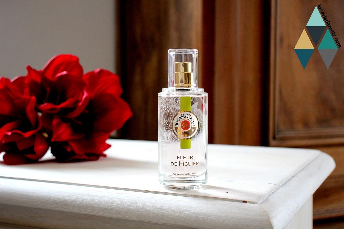 avis et test beauté eau parfumée fleur de figuier roger & gallet