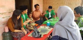 PAC Ansor Kota Pamekasan Berikan Santunan Keluarga Miskin