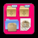 ဖုန္းထဲ႕မွာ  Rar Zip Tar 7Zip ဖုိင္မ်ဳိးစုံေတြ အားလုံးကုိ  အလြယ္ဆုံး ေျဖႏုိင္မယ္႔  Rar Zip Tar 7Zip v1.5 Apk