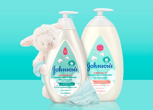 Johnson´s Cottontouch, la nueva gama para recién nacidos con algodón auténtico