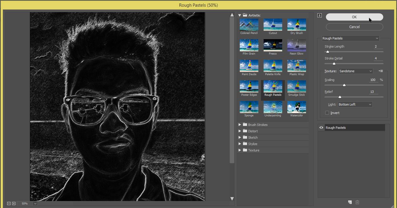 Belajar Photoshop : Cara Membuat Foto Menjadi Sketsa di ...