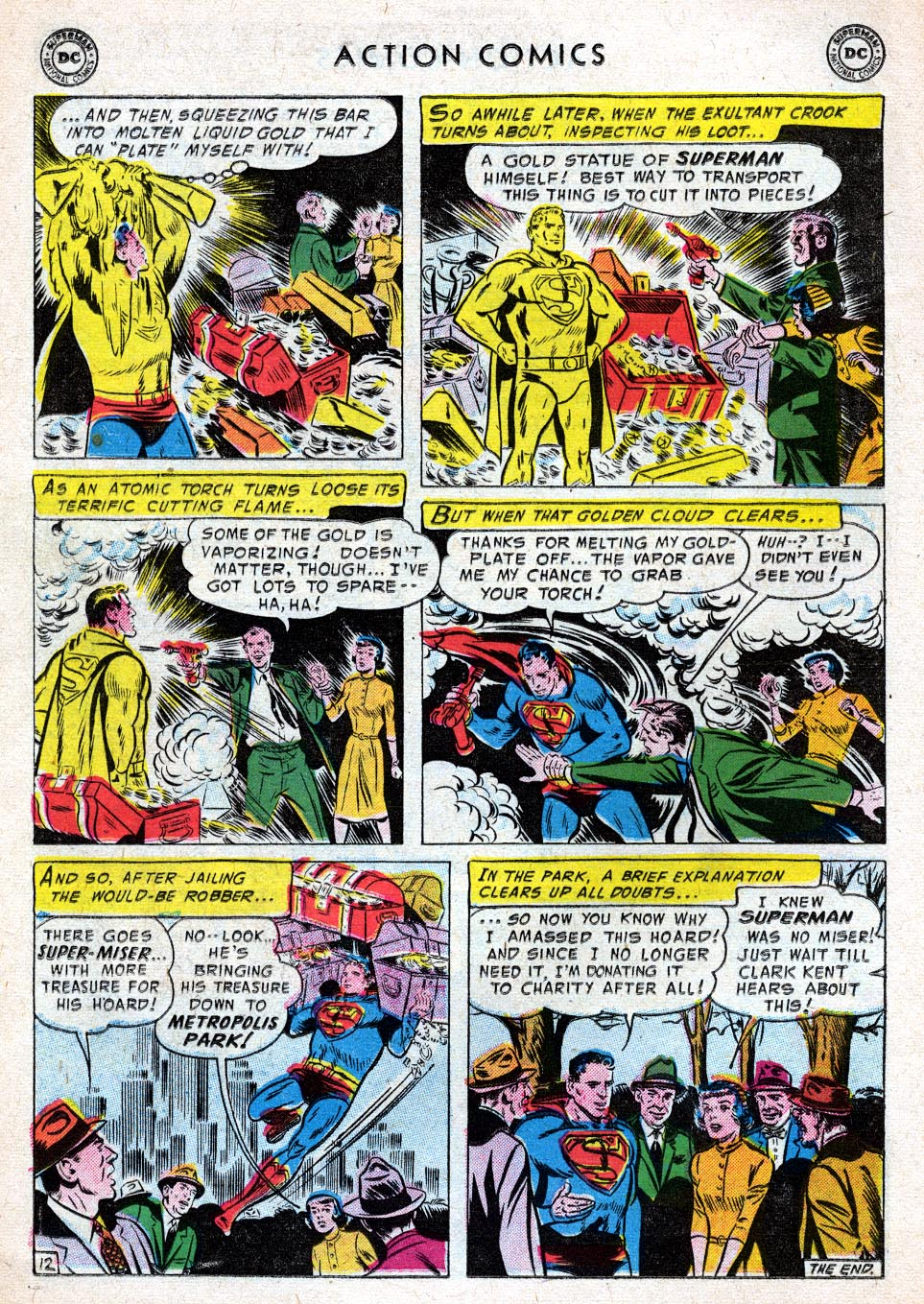 Read online Action Comics (1938) comic -  Issue #219 - 14