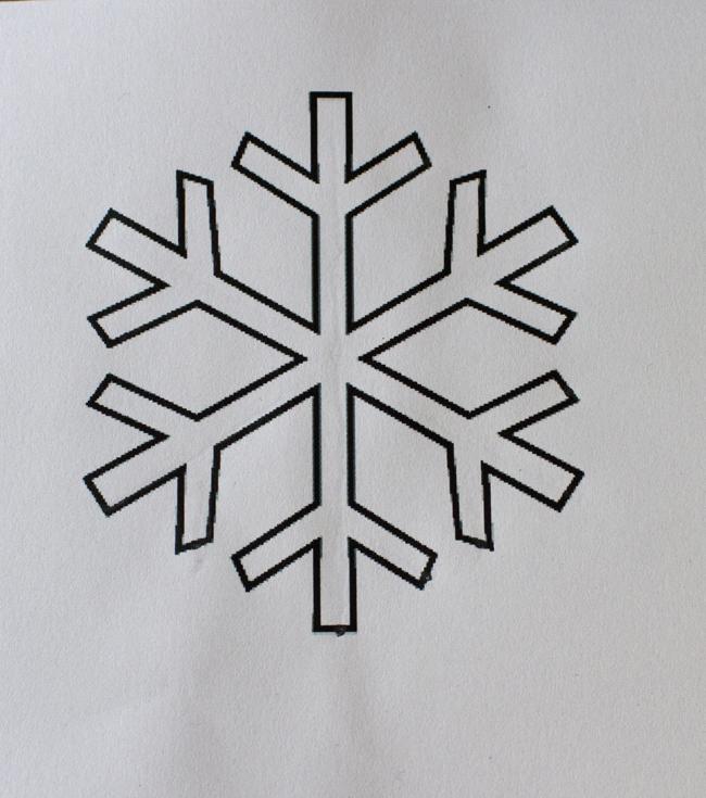 A Happy Scrappy Place Snowflake Tutorial