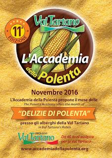 Delizie di polenta dal 5 novembre al 54 dicembre Val Tartano (SO)